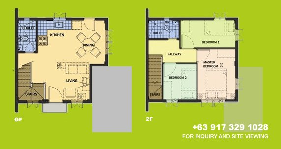 Carmela Floor Plan House and Lot in Alabang